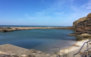 Bude Sea Tide Pool Cornwall
