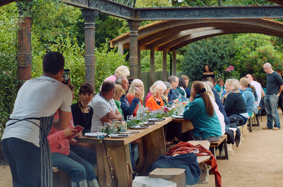 Woodfired Canteen event at Lost Gardens of Heligan