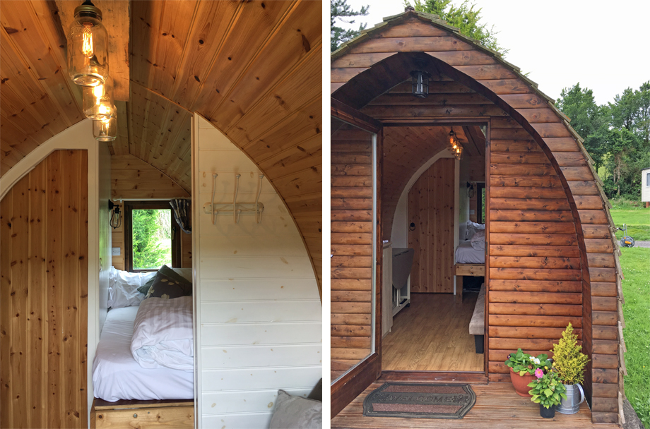 glamping pod Newquay campsite Coastal Valley Camp & Crafts