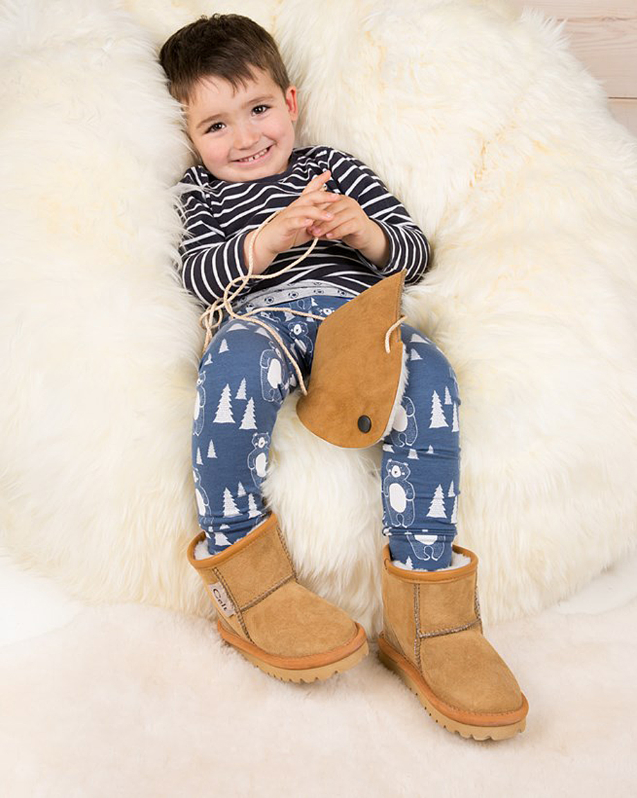 Celtic & Co Unisex Children's Sheepskin Boots
