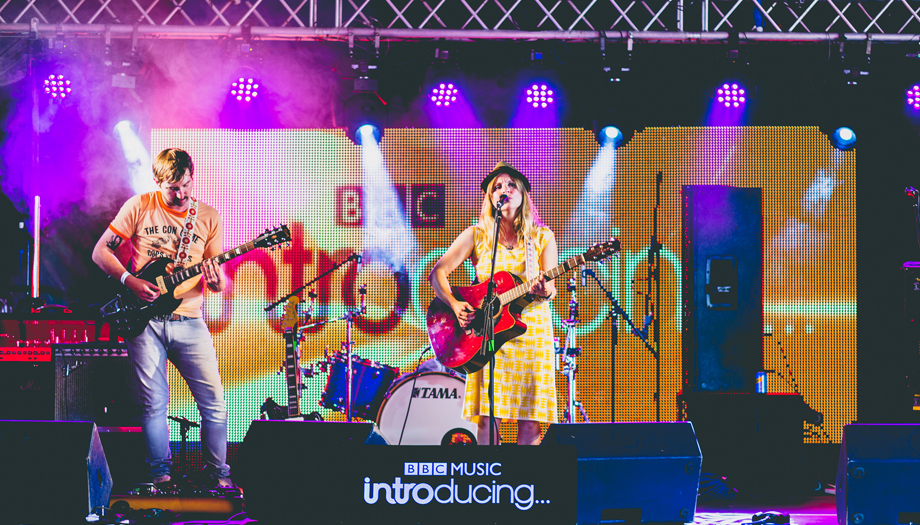 Little Orchard Cider and Music Festival BBC Introducing Stage