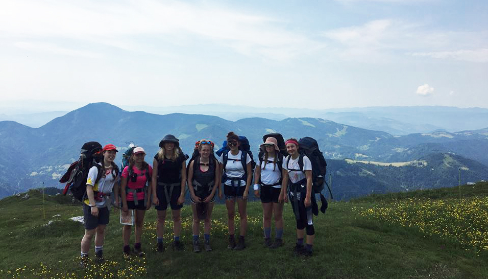 Truro School Duke of Edinburgh Gold in Slovenia