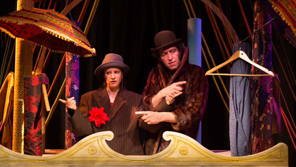 The Emperor's New Clothes coming to Hall For Cornwall. Photo by Louise Frogatt