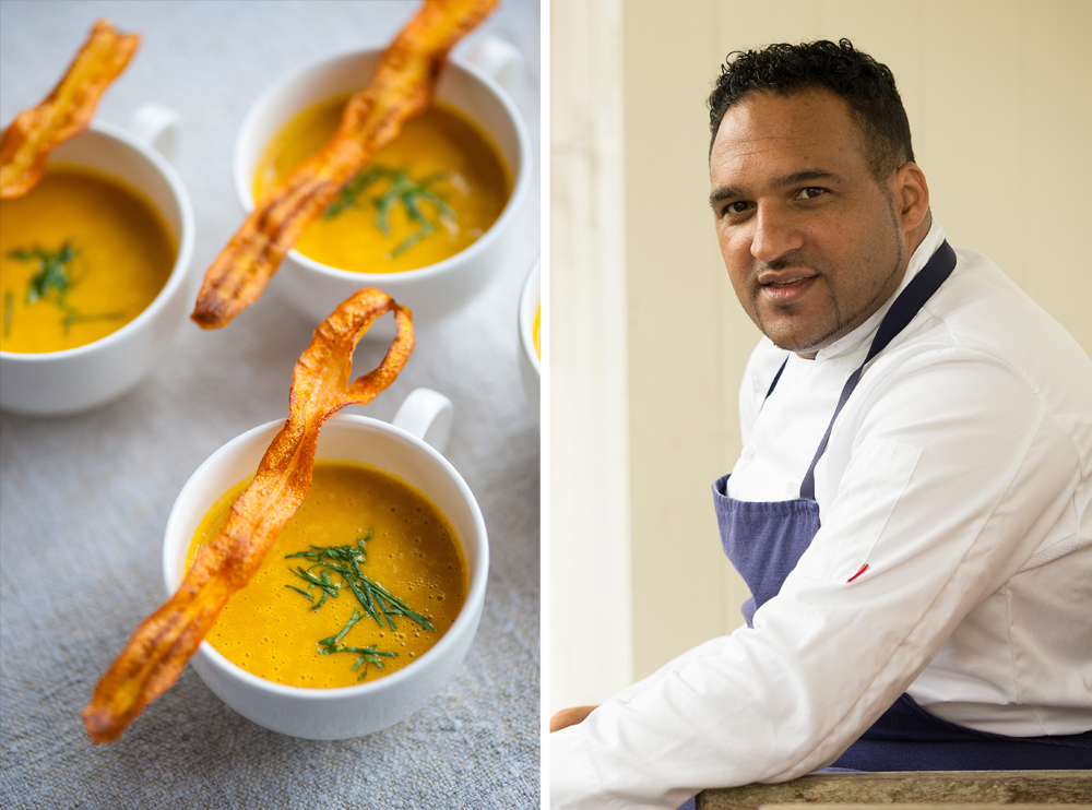 Michael Caines' Curried Carrot Soup recipe