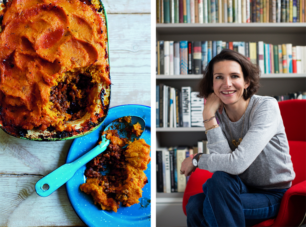 Thomasina Miers' Sweet Potato Shepherd's Pie recipe
