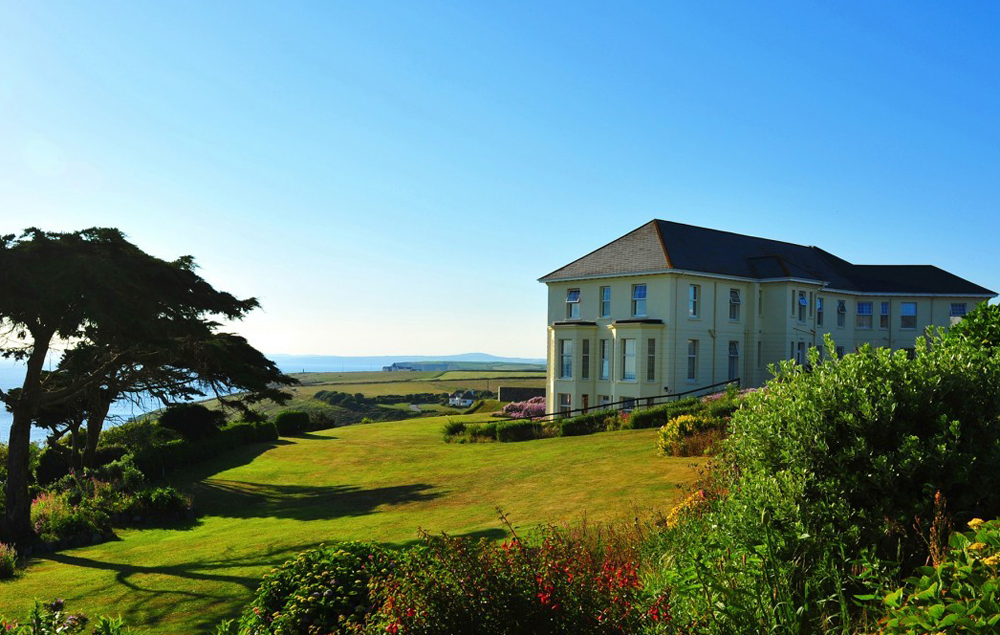 Polurrian Bay Hotel, The Lizard Peninsula, Cornwall