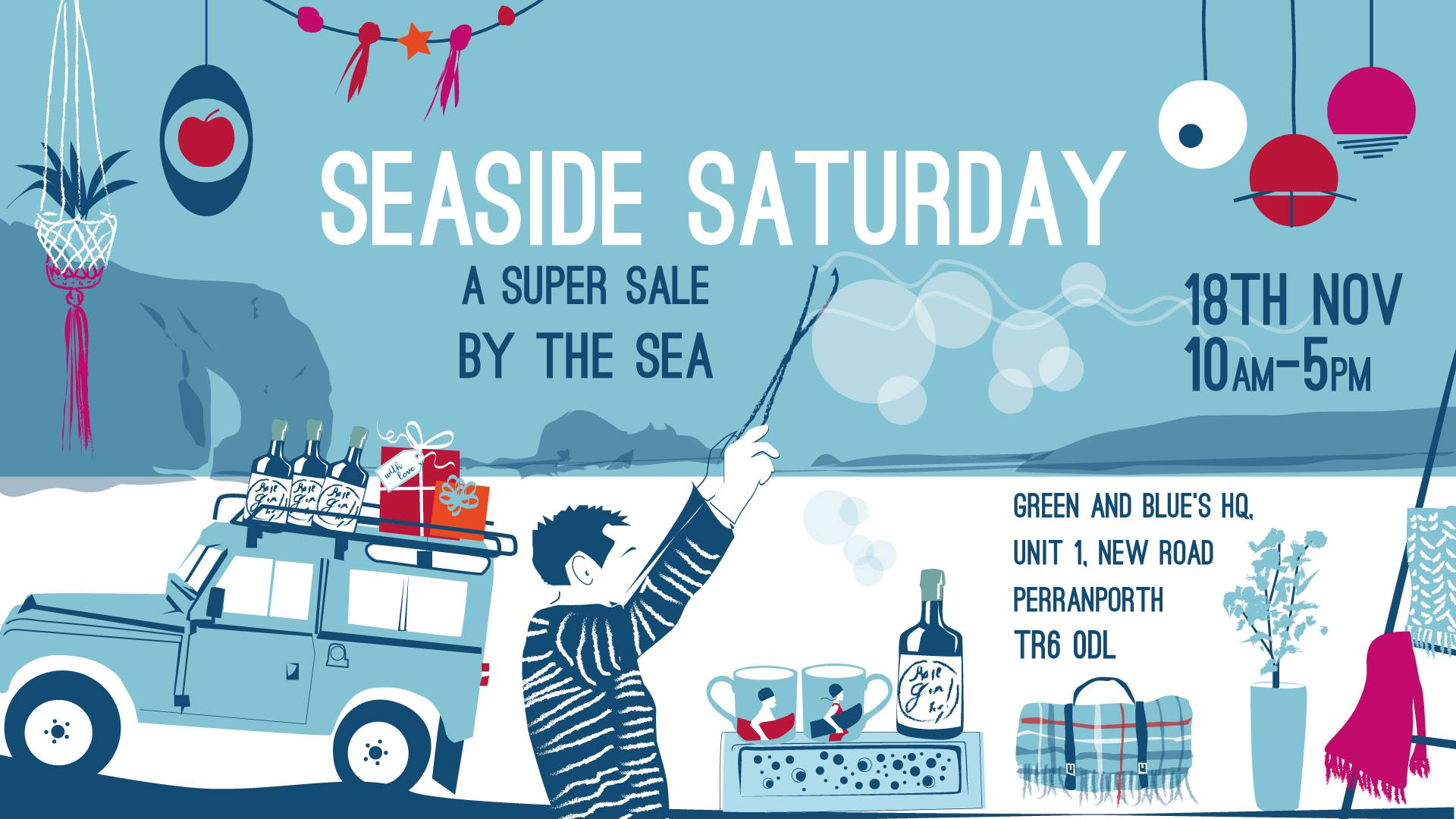 What's On in Cornwall: Seaside Saturday Sale, Perranporth