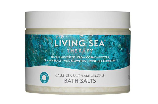 Bath Salts from Living Sea Therapy, Cornish skincare range