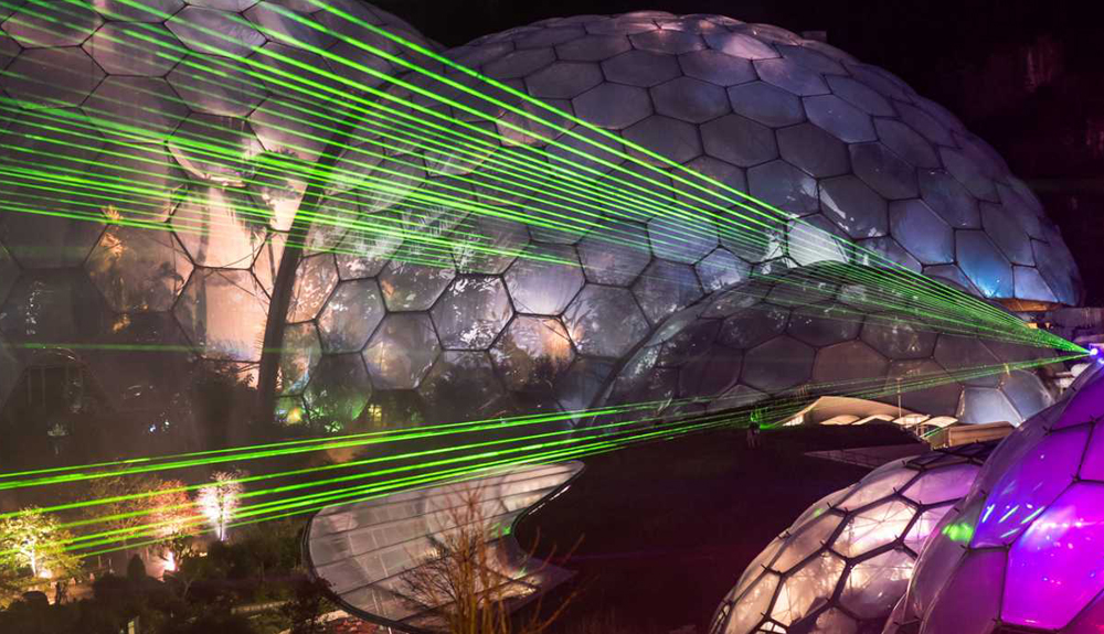 Eden Project Festival of Light and Sound