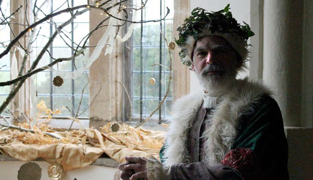 National Trust Trerice, Tudor Father Christmas