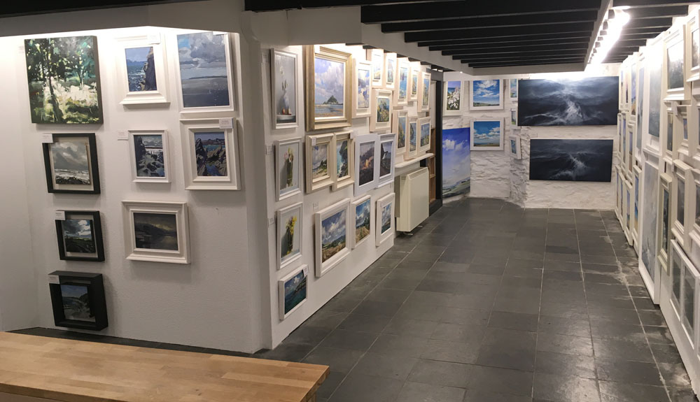 The Harbour Gallery, Portscatho, Cornwall