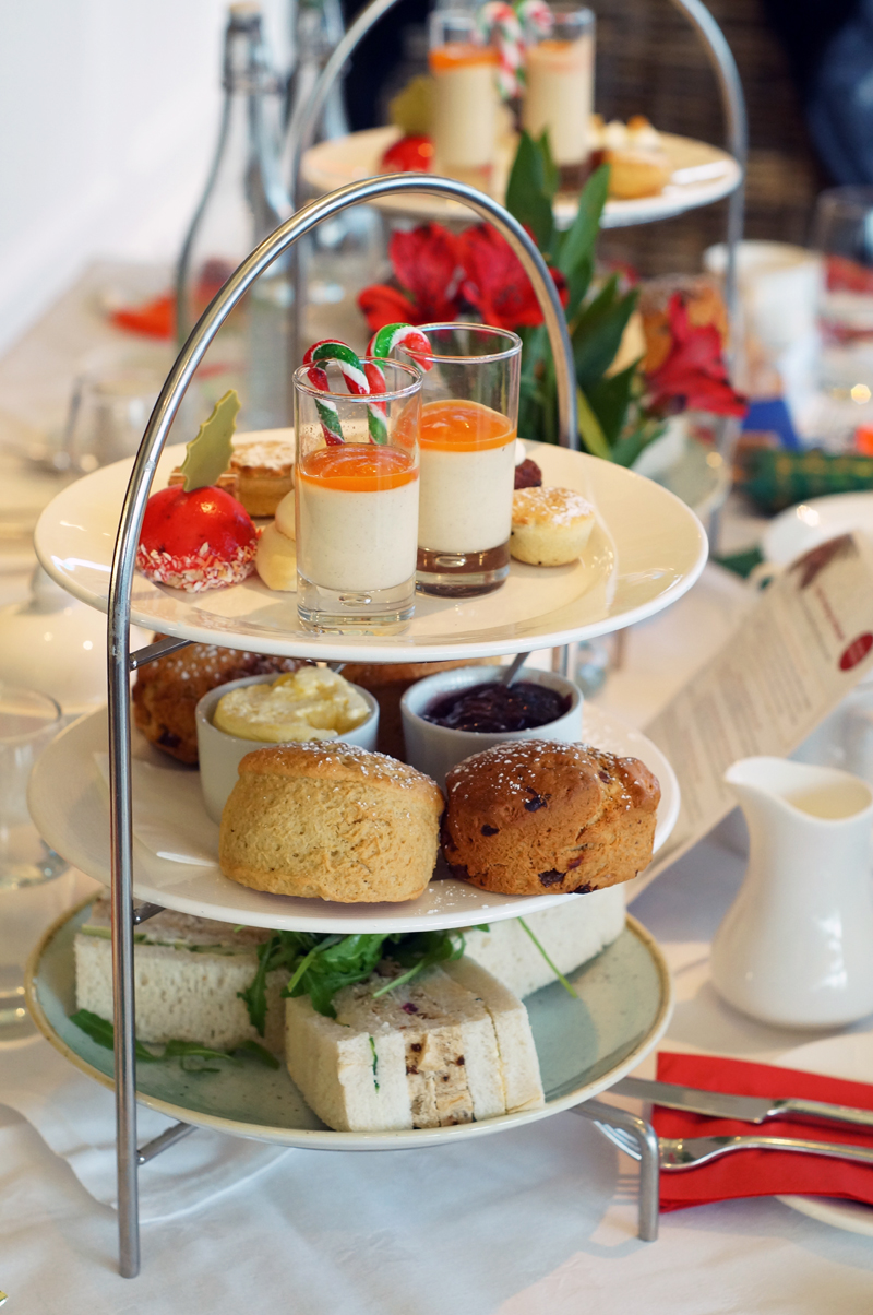 Headland Hotel Festive Afternoon Tea, Christmas High Tea