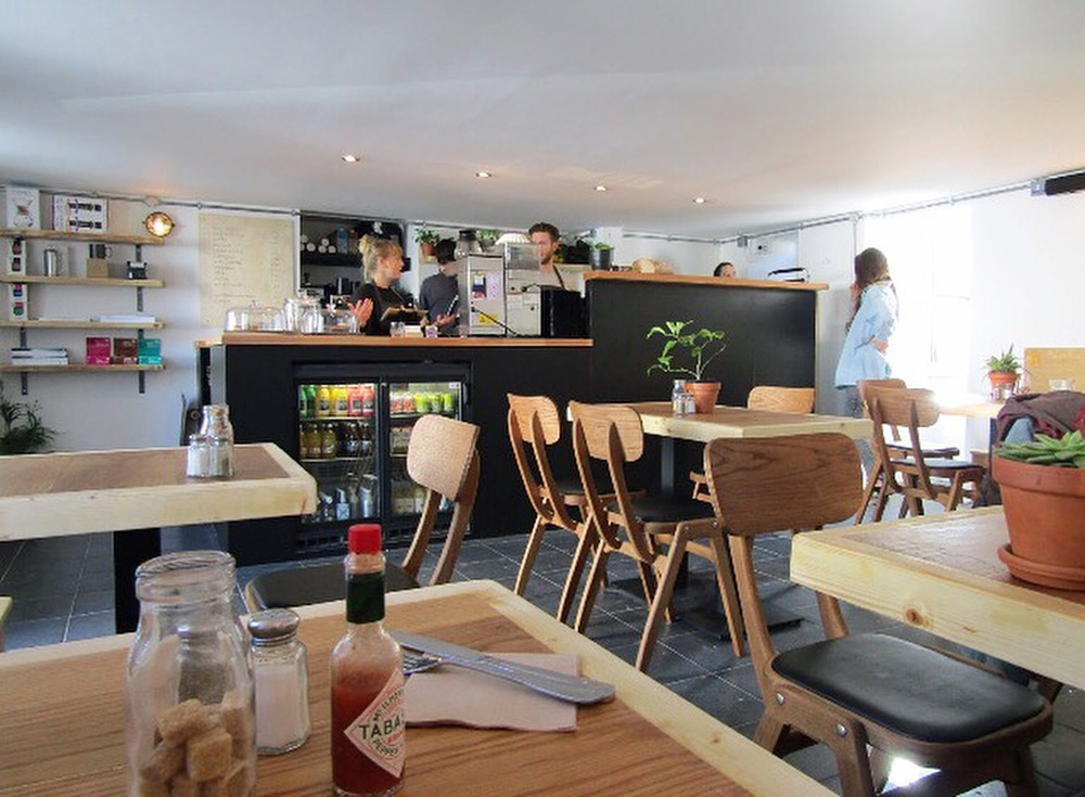Newquay cafe Box and Barber