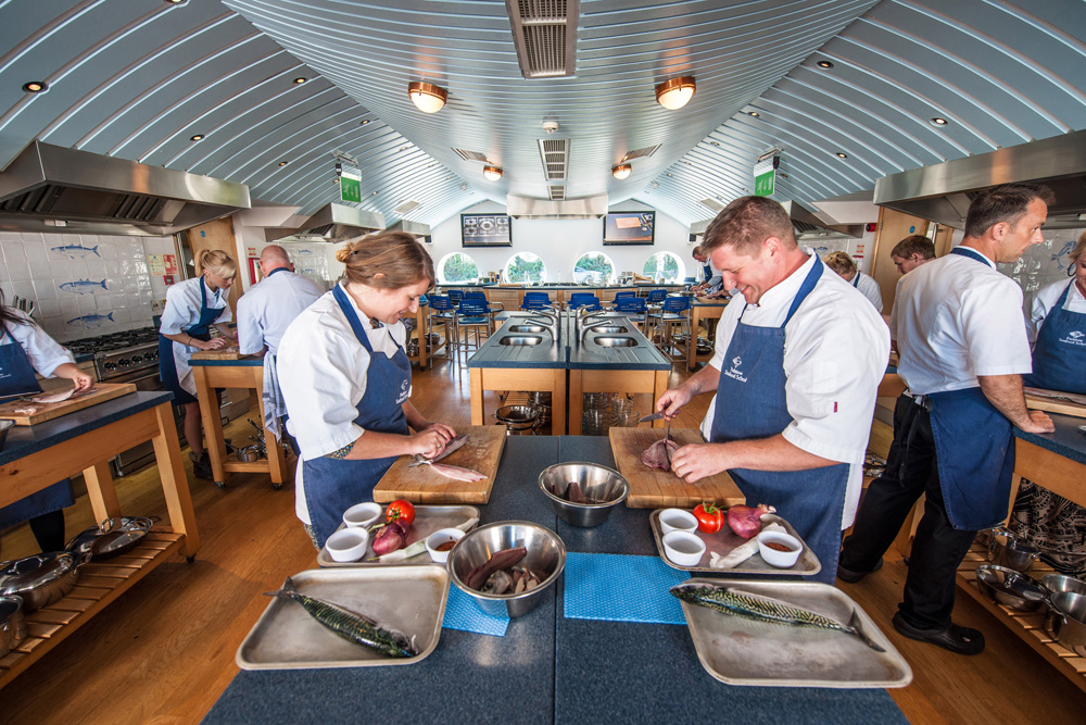 Rick Stein's Seafood Cookery School Padstow