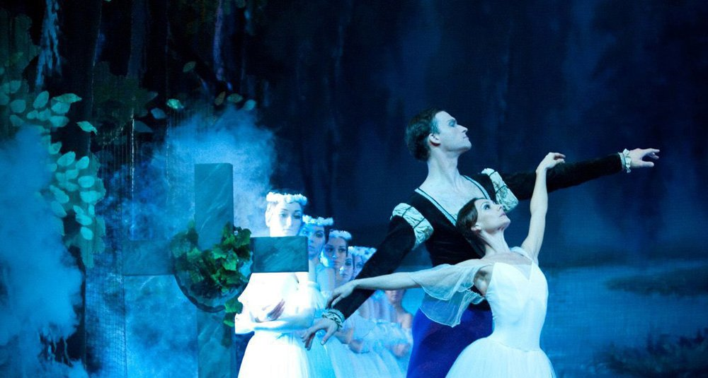 Giselle hall for cornwall russian national ballet