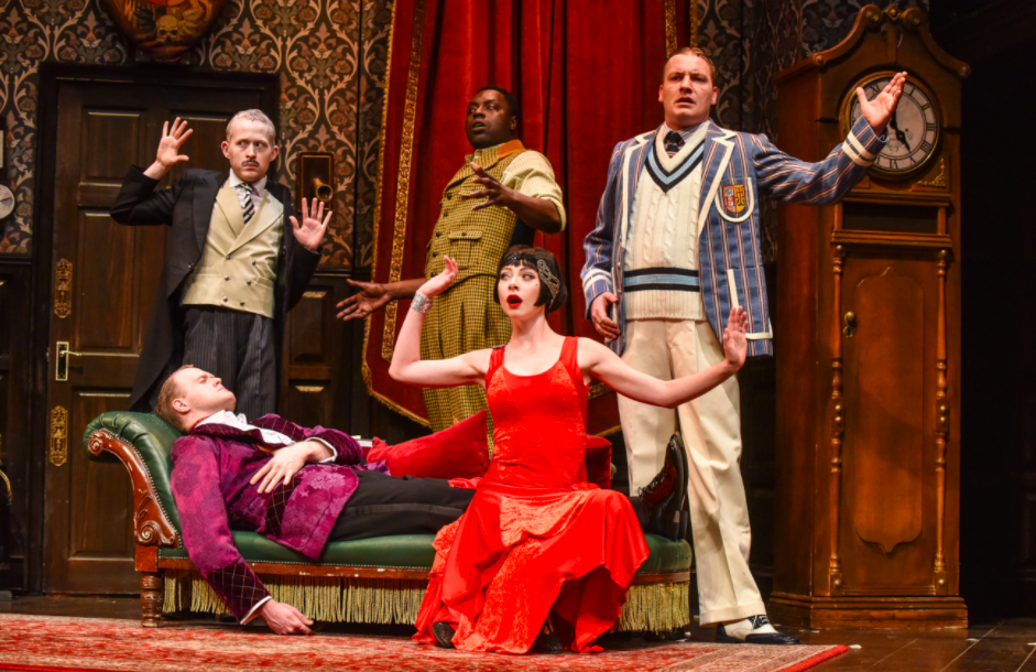 The Play That Goes Wrong Hall For Cornwall