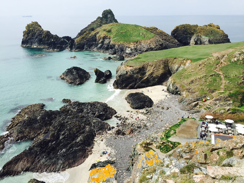 Kynance Cove Beach, Lizard Peninsula, Cornwall