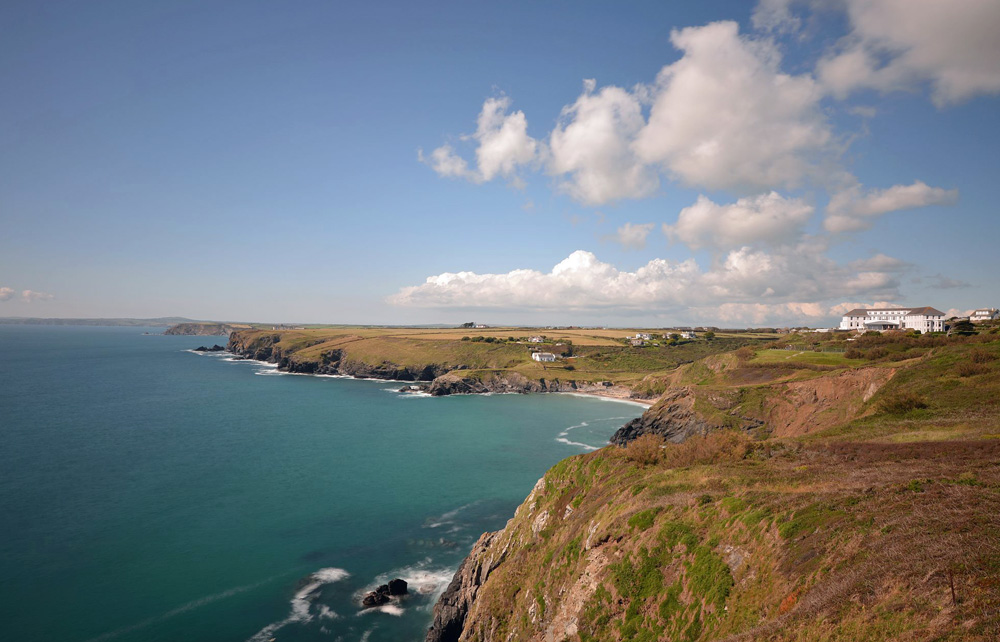 Polurrian Bay Hotel, Lizard Peninsula, Cornwall