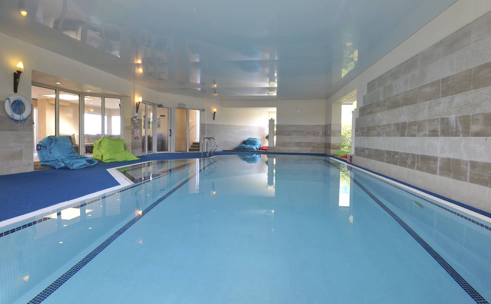 Pool, Polurrian Bay Hotel, Lizard Peninsula, Cornwall