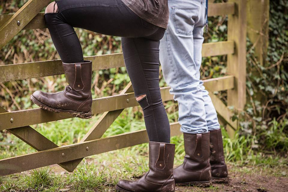 Trailback Unisex Rigger Boots, his and hers