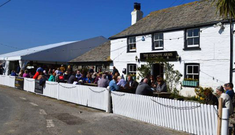The Cornish Arms, Beer and Mussel Festival, March 2018