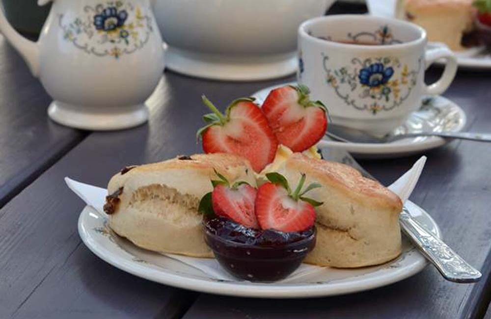 Berryfield Farm's famous 'Strawberry Cream Tea'