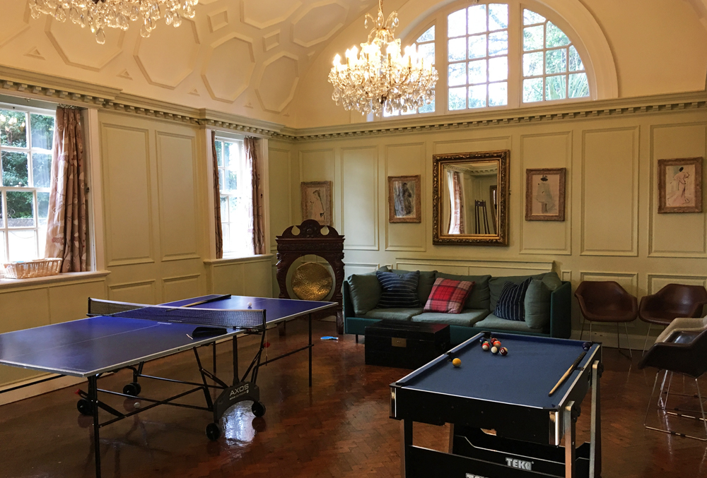 Fowey Hall Hotel Cornwall Games Room
