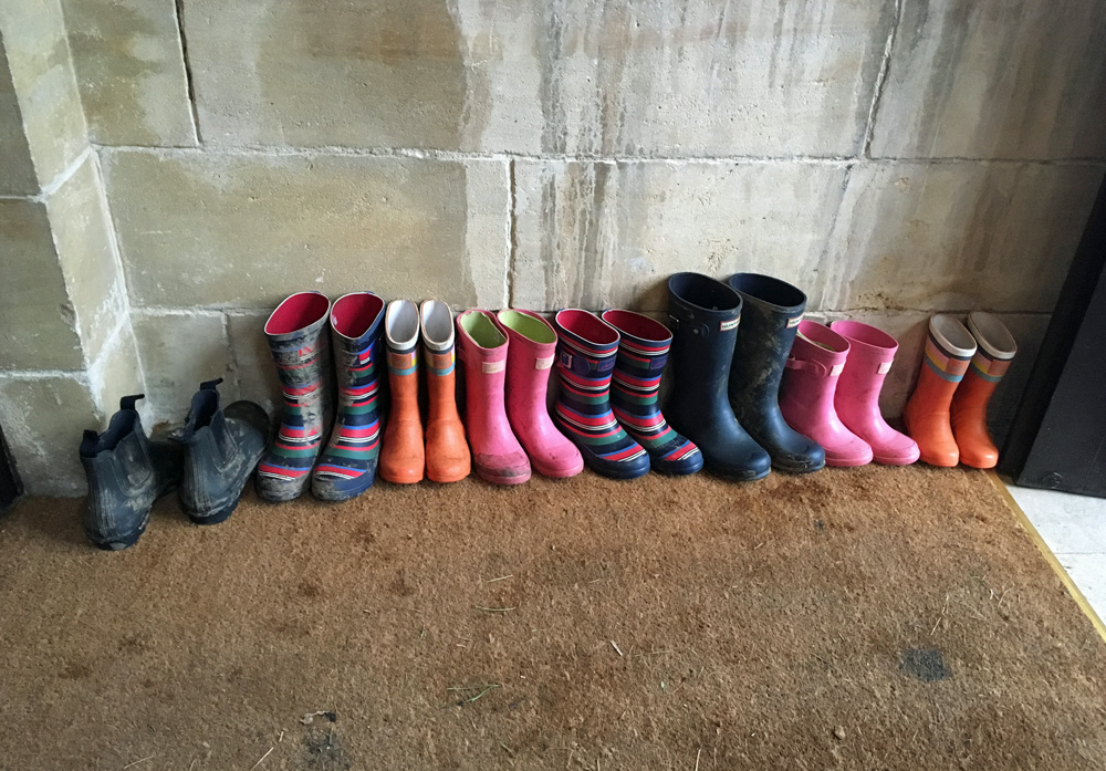 Fowey Hall Family Hotel Cornwall wellies