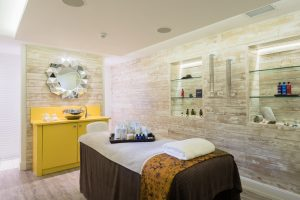 Headland Hotel Spa Newquay Treatment Room