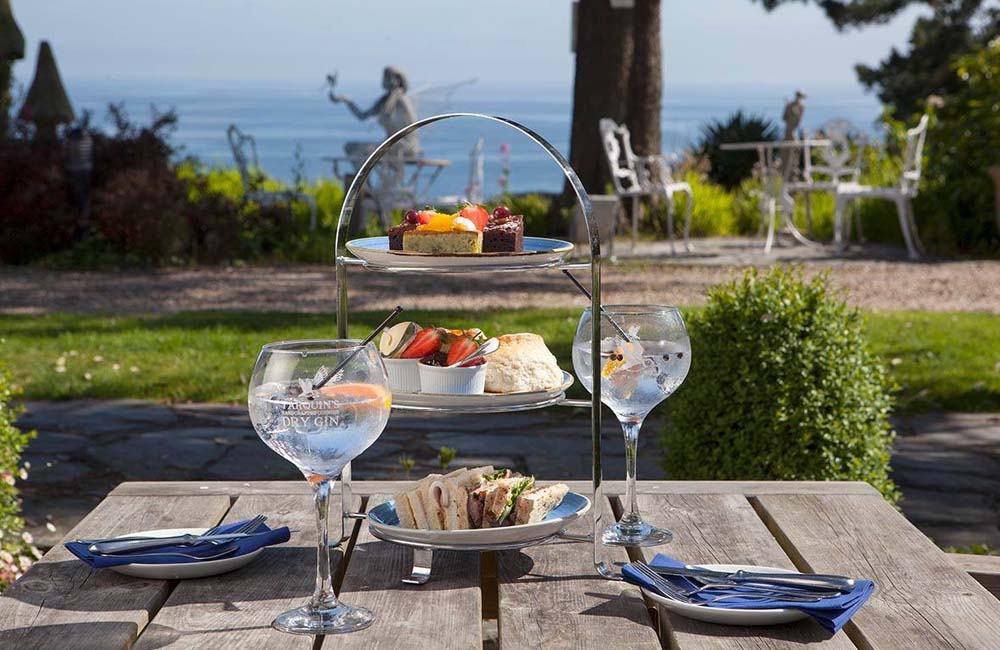 Talland Bay Hotel Afternoon Tea