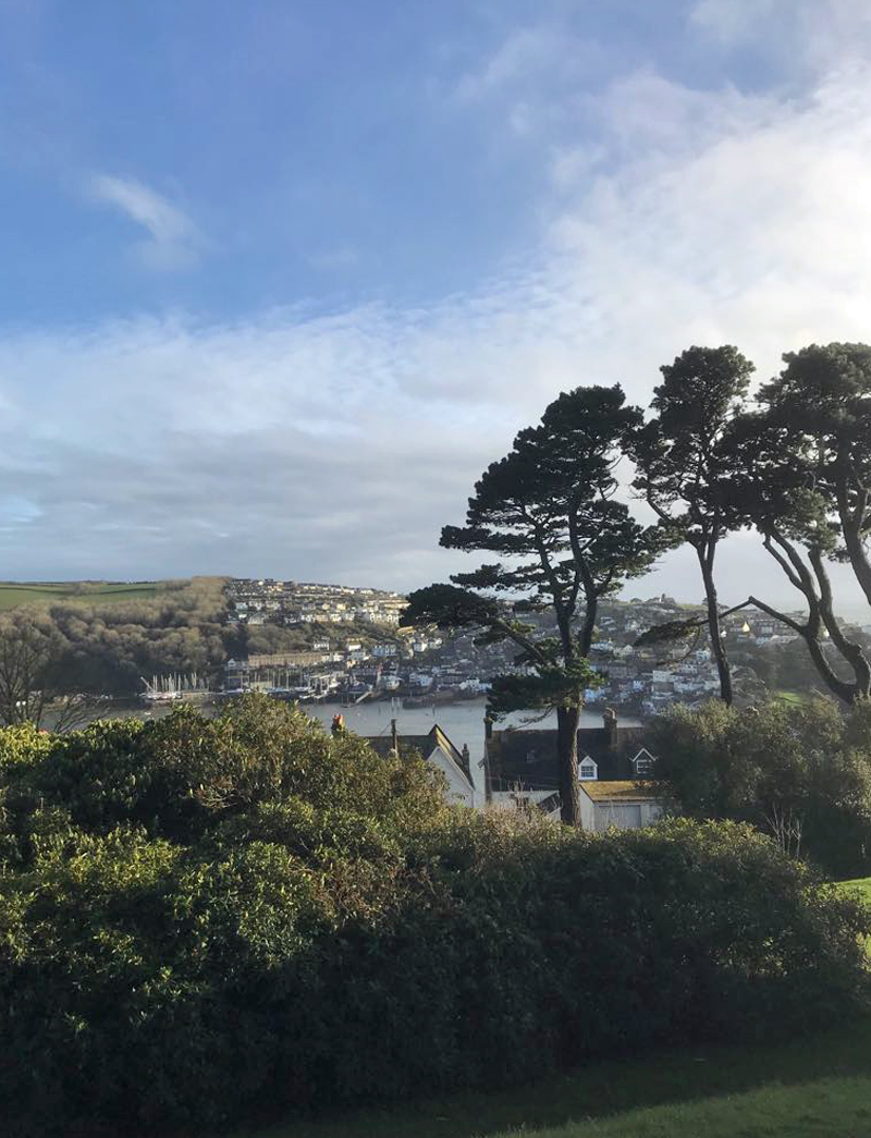 Fowey Hall Hotel Estuary View