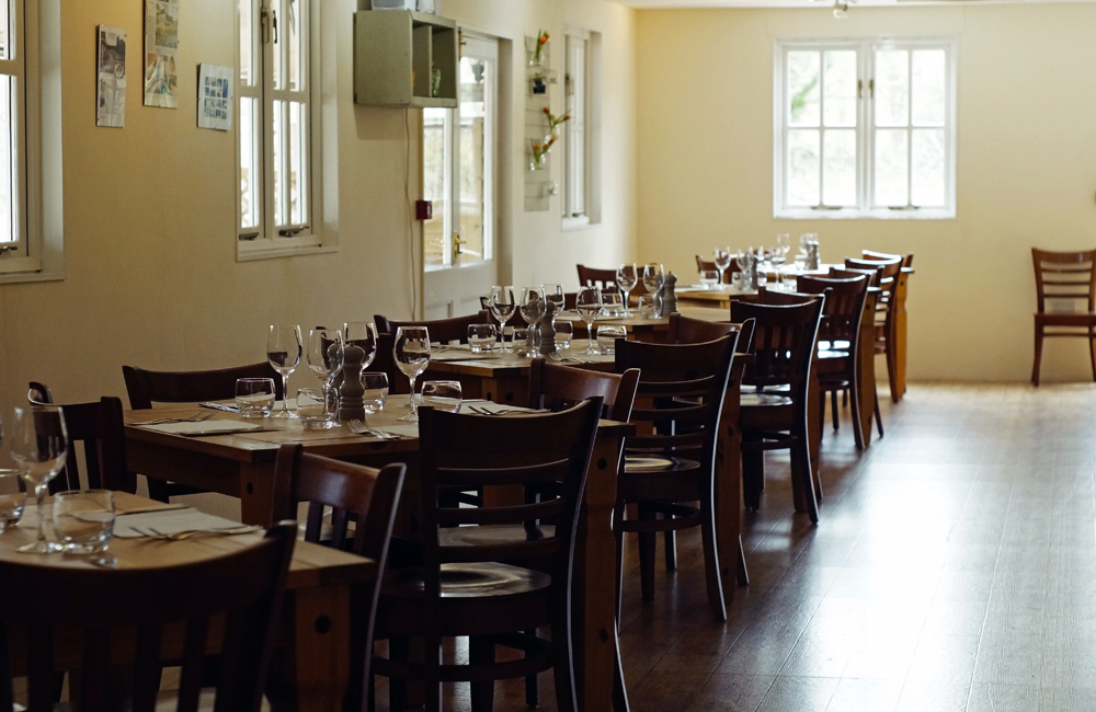 Penrose Kitchen, Restaurant, Truro, Cornwall