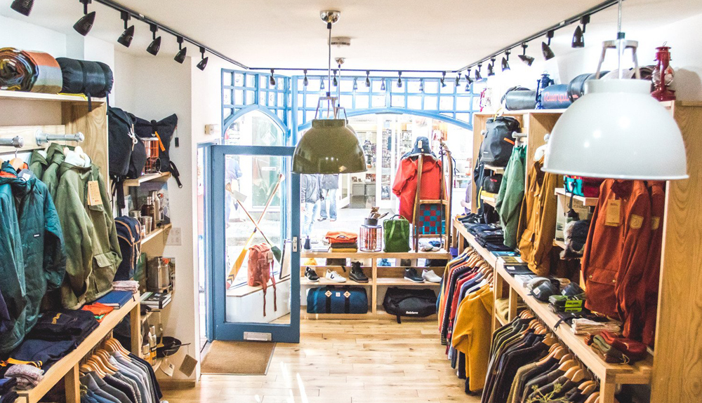 Common Wanderer outdoor shop St Ives