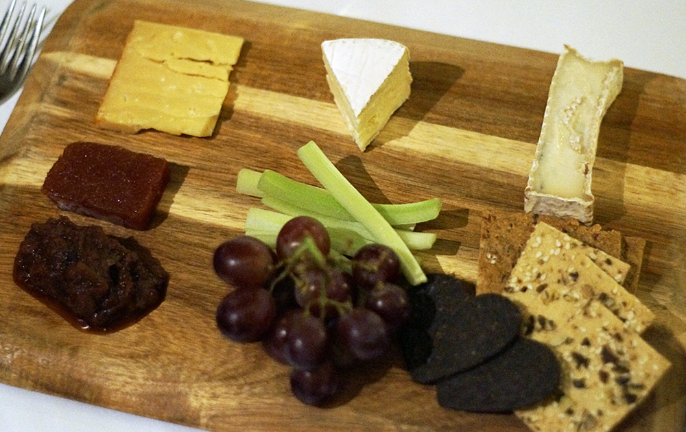 Cheese board Talland Bay Hotel Cornwall