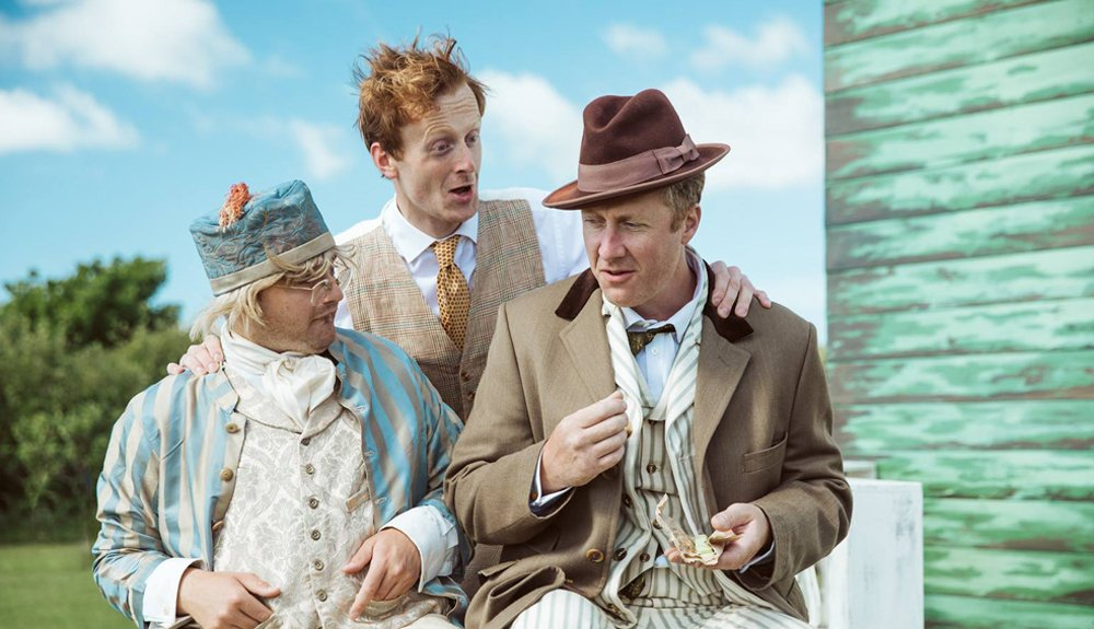 Miracle Theatre The Cherry Orchard, Summer 2018, Outdoor theatre Cornwall
