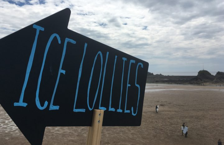 Zach's Ice Lolly Bar Bude Cornwall