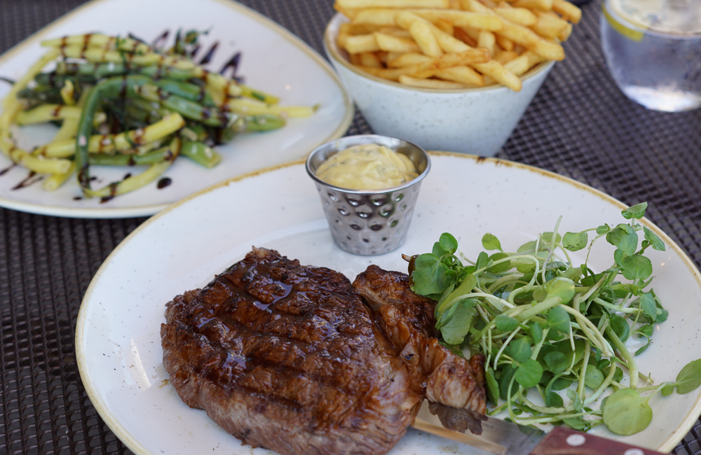 The Longstore Steaks and Seafood, Restaurant Review, Charlestown, Cornwall, Steak