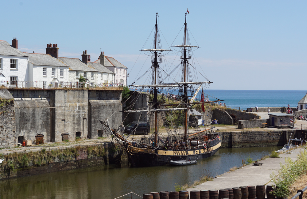 Charlestown Harbour, Cornwall