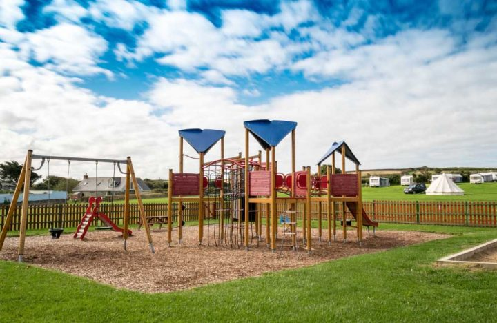 Peter Bull Resorts Cornwall Touring Camping Bude Playground