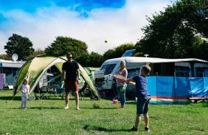 Peter Bull Resorts Cornwall Touring Camping Newquay Pitches