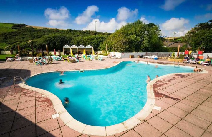 Peter Bull Resorts Cornwall Touring Camping Newquay Swimming Pool