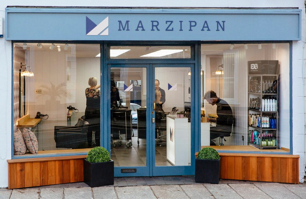 Marzipan Hair Salon Truro Cornwall
