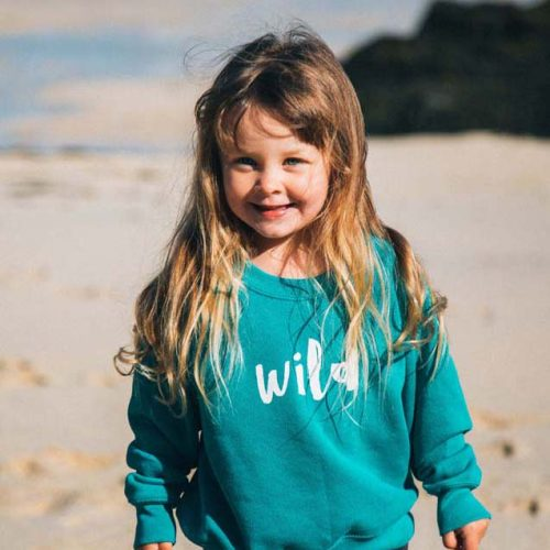 Wild Rock Unisex Children's Clothing Cornwall Wild Sweatshirt