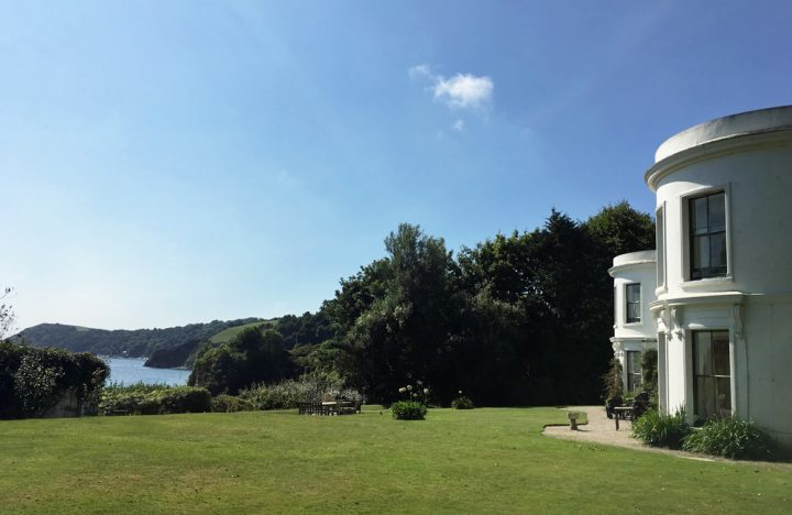 Porthpean House, The Big Beautiful Beach House, large holiday home from movie About Time, Cornwall