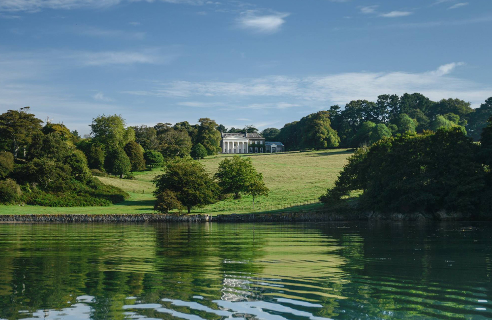 Trelissick House National Trust Truro Cornwall