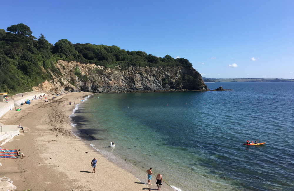 Porthpean Beach, Best Beaches Cornwall, The Big Beautiful Beach House Review