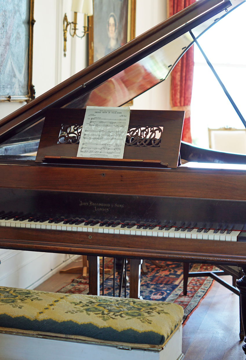 Grand Piano, The Big Beautiful Beach House, Porthpean, Large Holiday House Cornwall