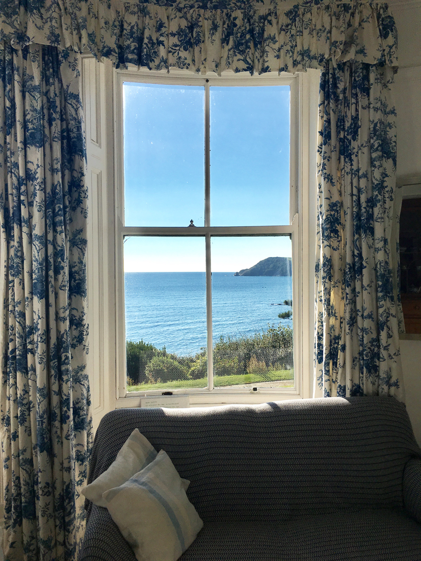 Window Seat, The Big Beautiful Beach House Porthpean Large Holiday House Cornwall