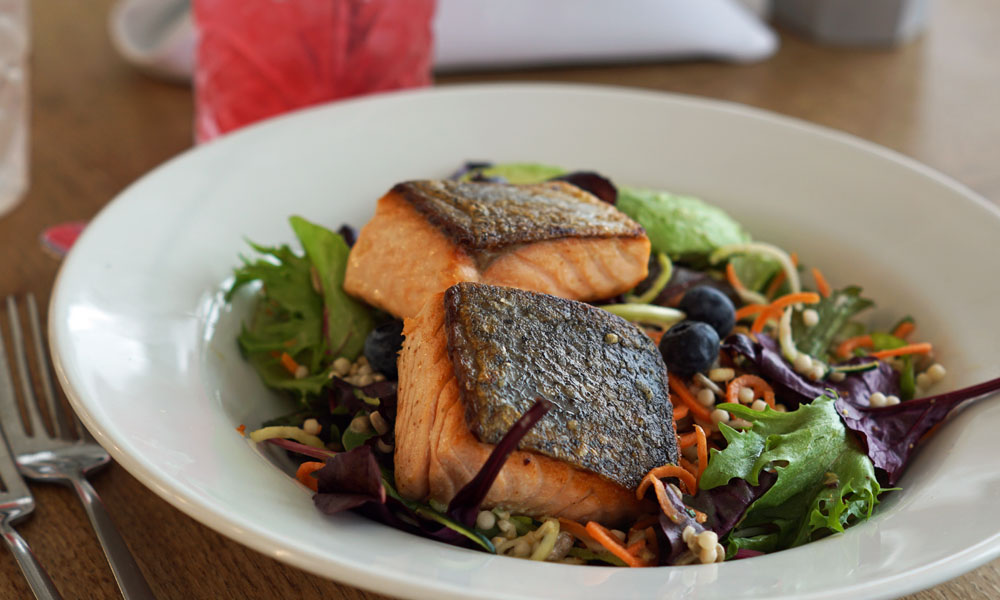 Fistral Beach Hotel and Spa Healthy spa lunch