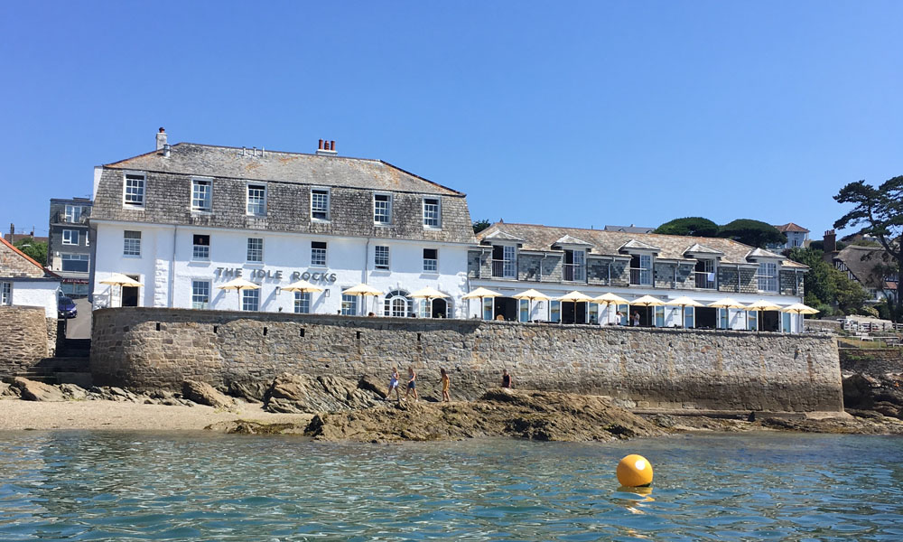 The Idle Rocks, St Mawes, the Roseland Peninsula Cornwall